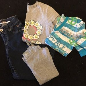 Justice Clothing Lot - size 12